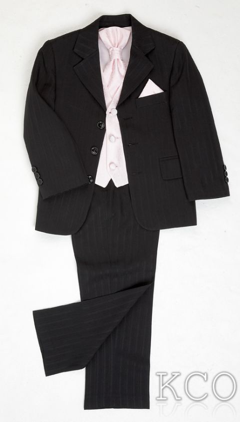Brampton Black/Pink~ Boys Suits